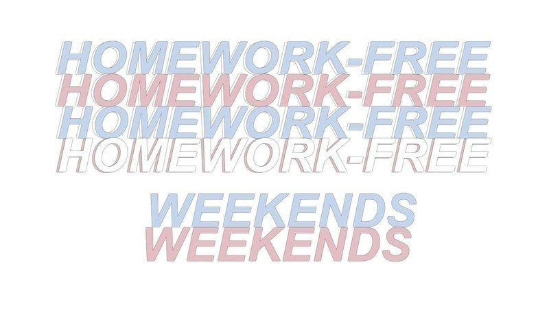 Homework on the weekend thesis professional