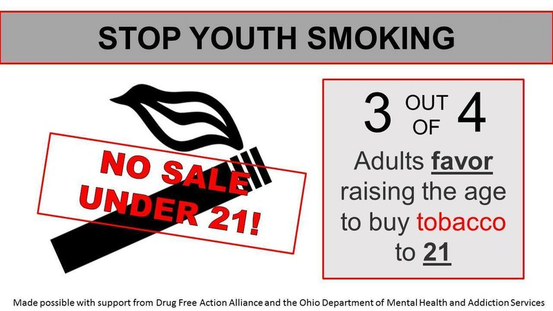 Stop Legal Tobacco · The Youth Petition 21 org Toledo Purchase Age To Smoking Change In Support Changing