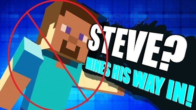 Petition · Prevent Steve from being included in Super Smash Bros