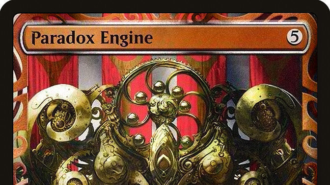 Petition · Unban Paradox Engine in Commander/EDH · Change org