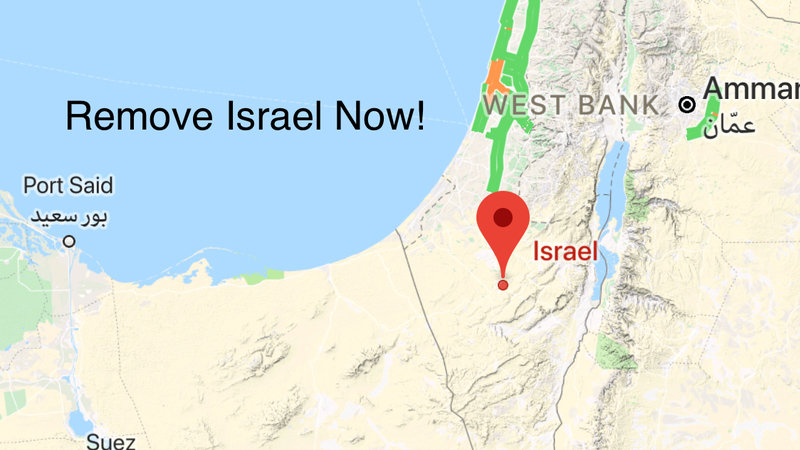 Petition · The people: The removal of Israel from Google Maps ...