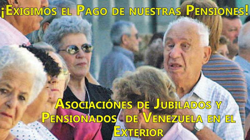 Peticion Paguen Las Pensiones De Los Jubilados De Venezuela En El