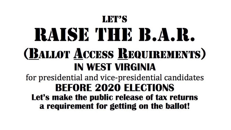 Petition · Disclosure of tax returns should be required for