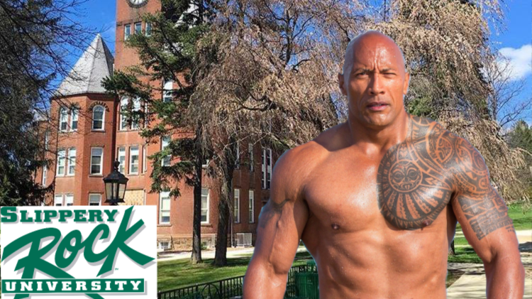 Petition Bring Dwayne The Rock Johnson To Slippery Rock