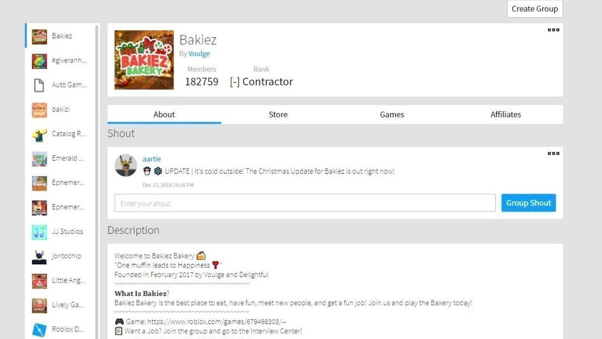 Petition Bring Back The Old Roblox Group Page Layout Change Org