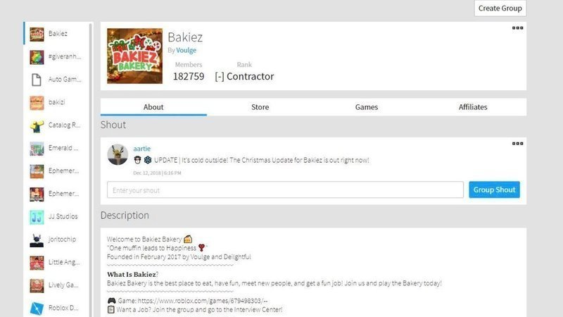 Petition Bring Back The Old Roblox Group Page Layout Changeorg