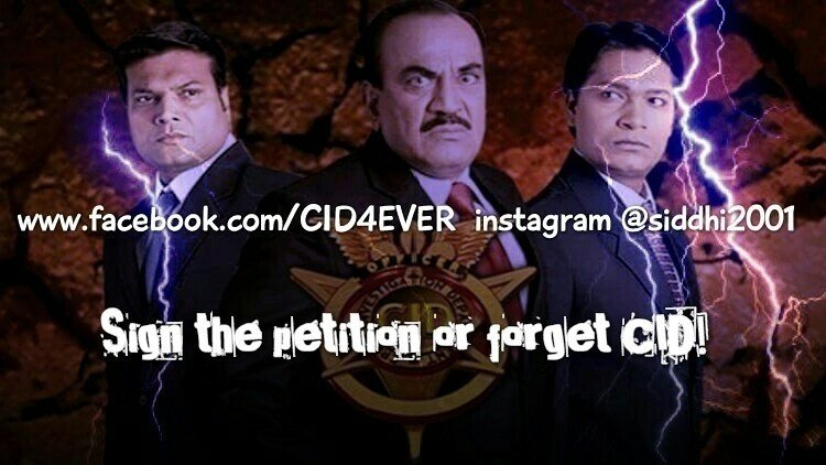 Petition Cid Should Be Aired Regularly On Sony Tv Change Org