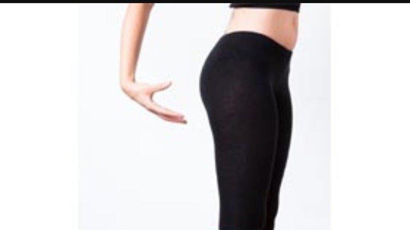 Girls butts in leggings
