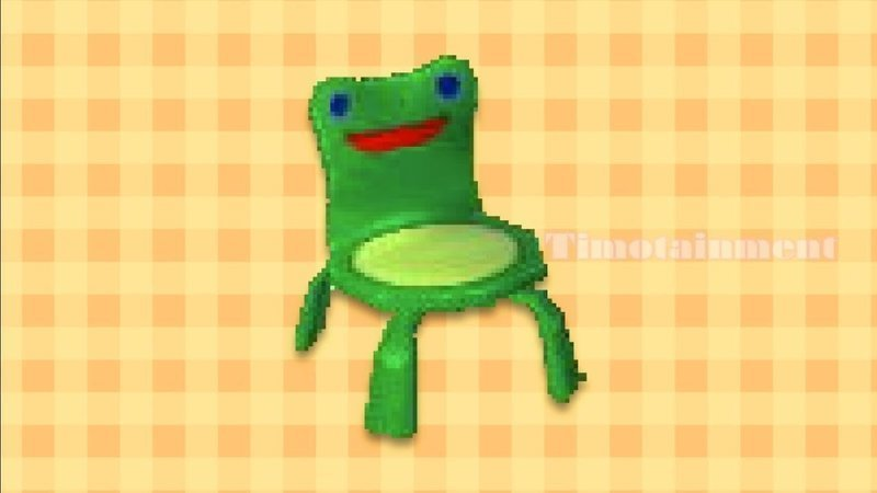 Petition Bring Froggy Chair To Animal Crossing New Horizons