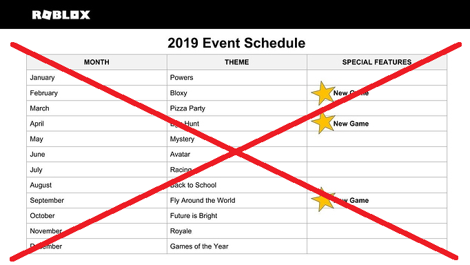Petition Bring Back The Events Roblox Change Org