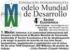 Petición · La aprobación de la Directiva ONU Cuarto Sector Económico ...