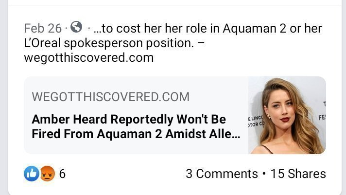 Petition · Boycott Aquaman 2 Amber Heard · Change.org