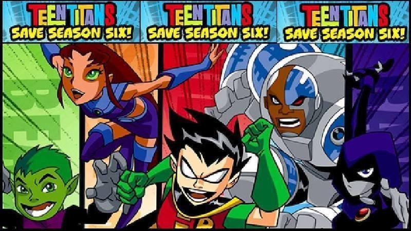 Teen Titans Season 6 for [ADULT SWIM]
