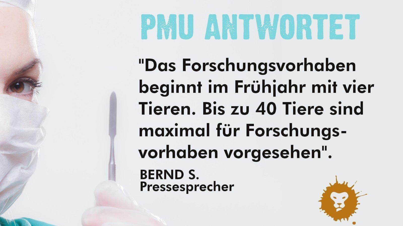 Petition update · schwarzer Tag: Tierversuche in Nürnberg