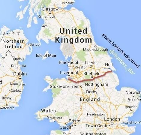 Map Of North England And Scotland.Petition The Uk Government Allow The North Of England To Secede