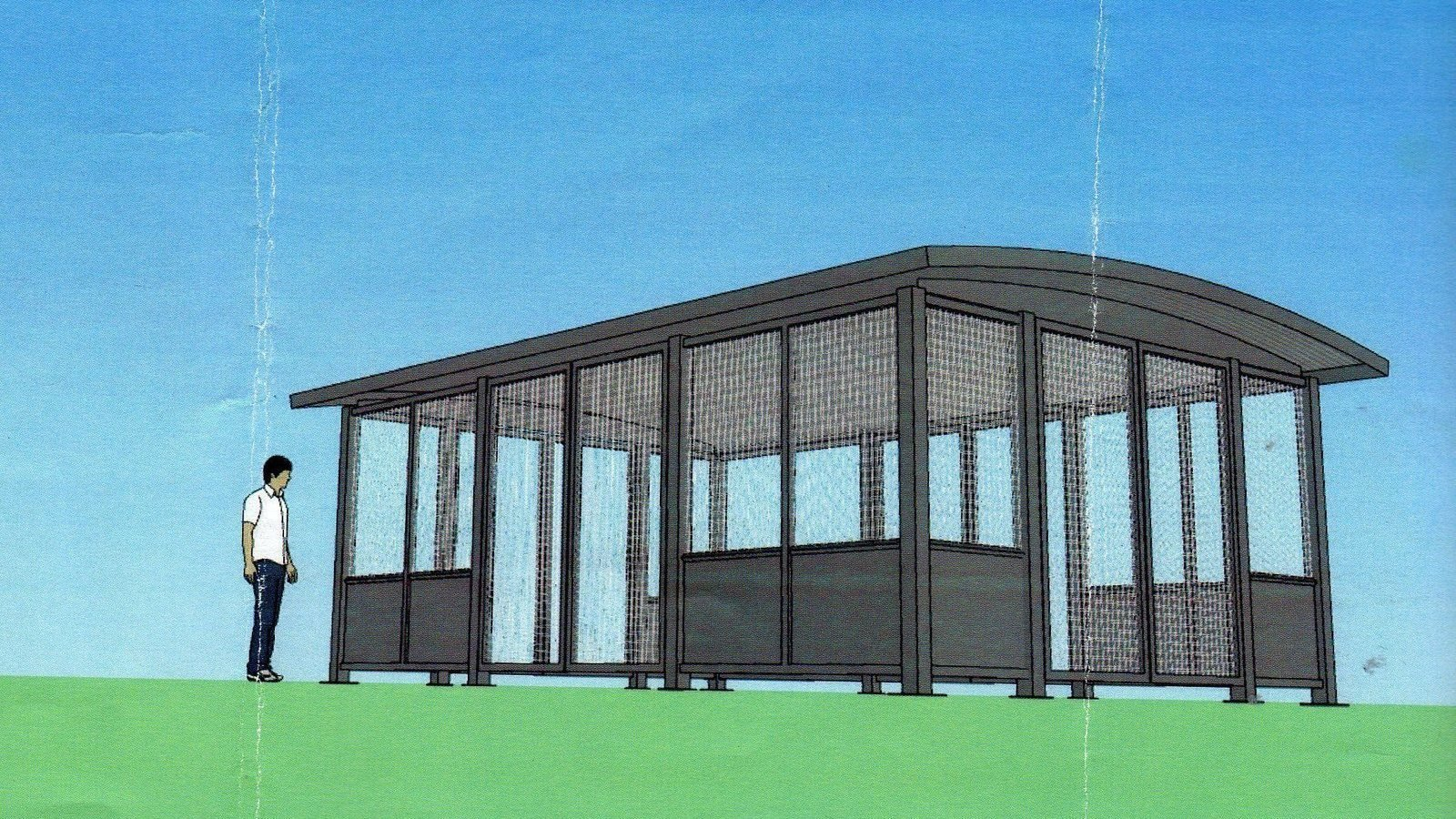 Covered Shelter Polygon : Petition · halt the construction of a covered picnic