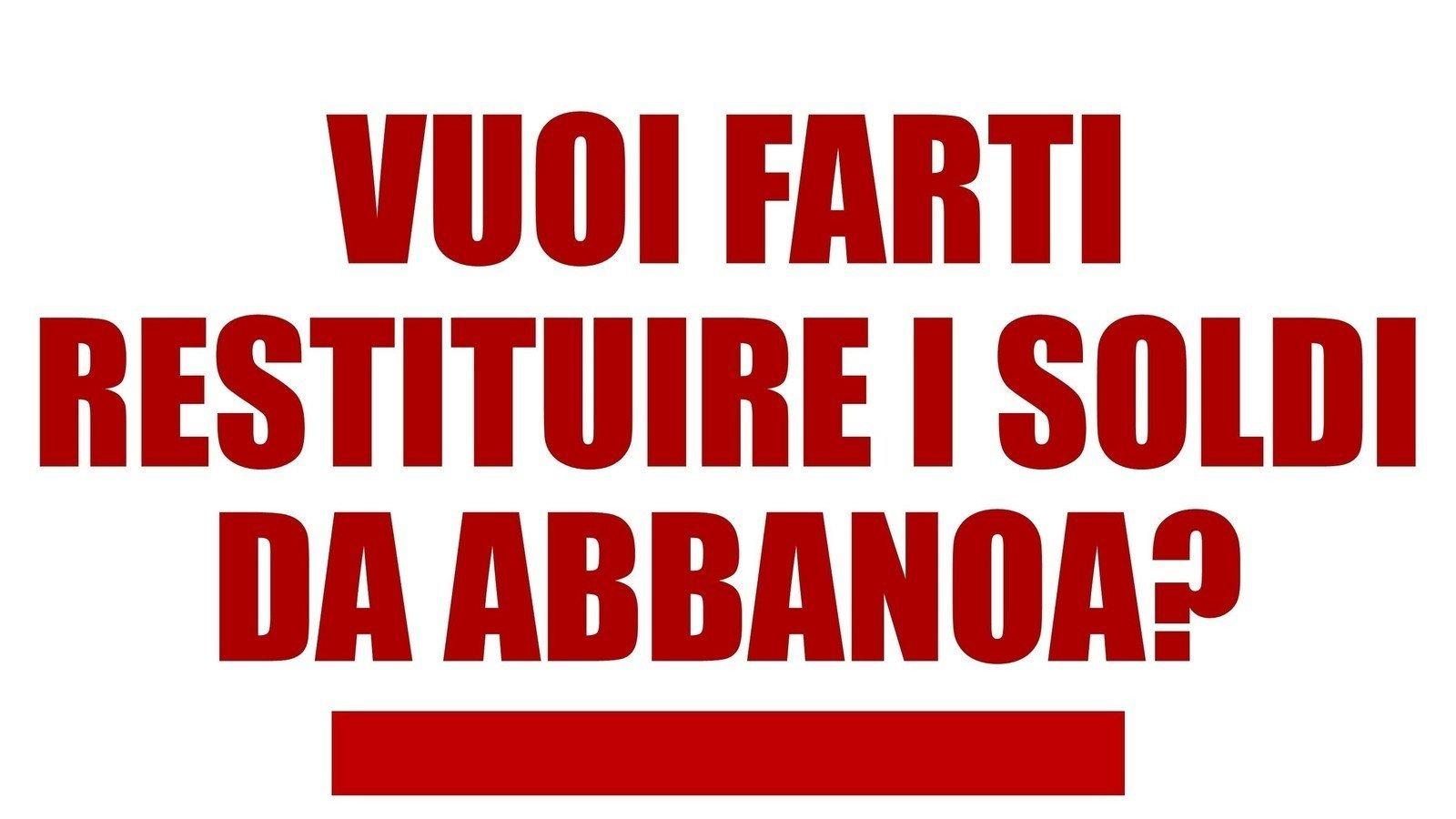 FATTURE ABBANOA SCARICARE