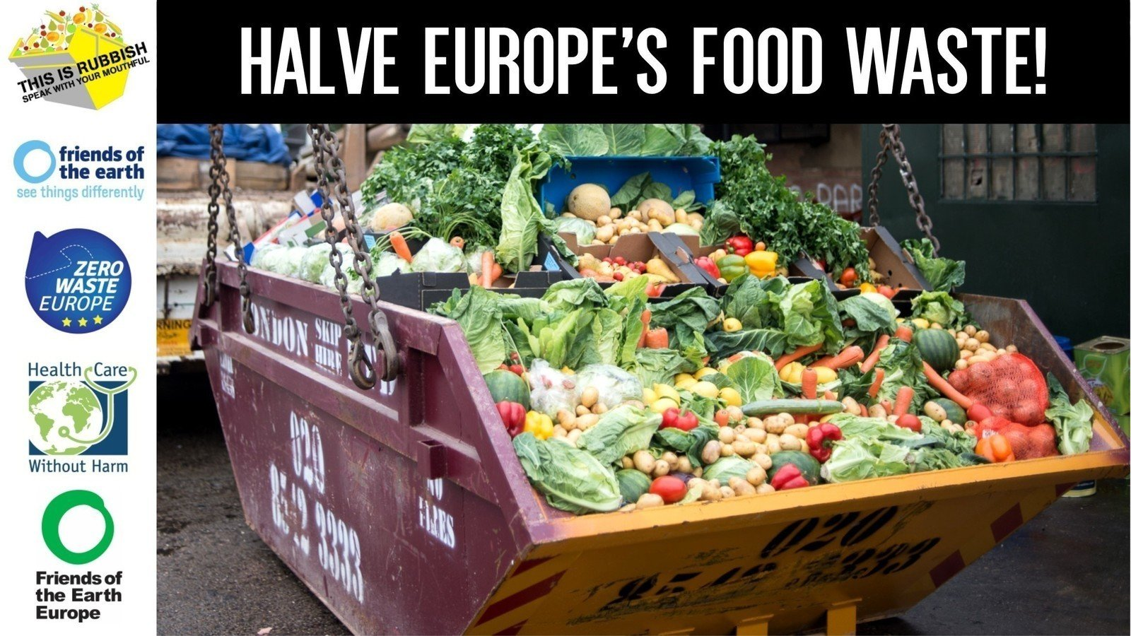 Petition · Let's cut Europe and the UK's food waste in half