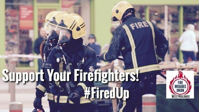 Image result for fbu west midlands