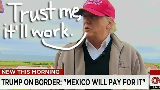 Image result for build me a wall