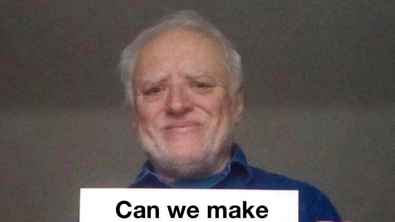 Petition Make Harold The R Memes Subreddit Picture Change Org