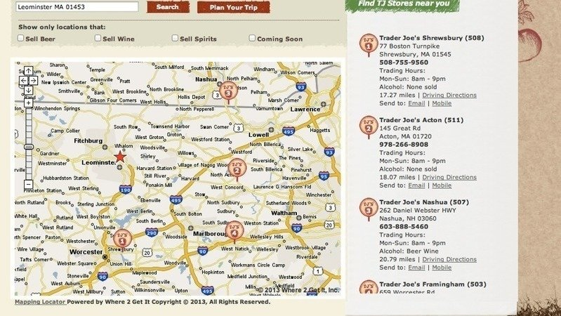 Peion · Trader Joe's Corporation: Please Build A Trader ... on map of cargill locations, map of chick-fil-a locations, map of whole foods market locations, map of winco foods locations, map of bass pro shops locations, map of citibank locations, map of lifetime fitness locations, map of nasa locations, map of fairway market locations, map of food lion locations, map of qfc locations, map of 7-eleven locations, map of tires plus locations, map of rite aid locations, map of outback steakhouse locations, map of family dollar locations, map of gamestop locations, map of la fitness locations, map of bank of america locations, map of sears locations,
