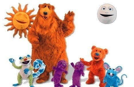 put reruns of bear in the big blue house on their channel - Big Blue House