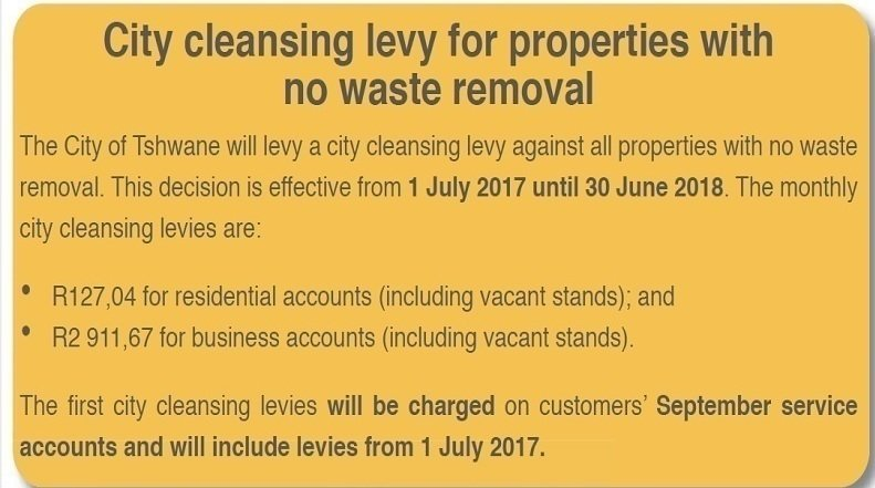 Petition · DA controlled City of Tshwane New Waste