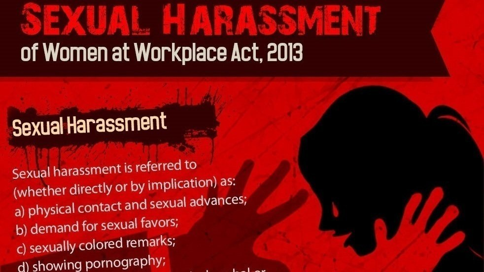 essay on sexual harassment in india Sexual harassment at workplace we are still carrying that legacy where women are treated as secondary to men true, the times have changed with industrial revolution and then the technological advances women have been recognized as equal to men all over.