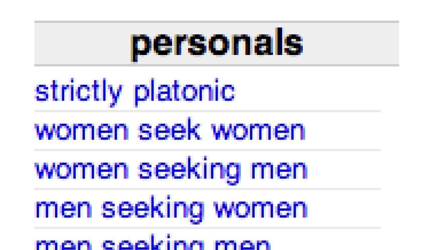 Craigslist women seeking men wy