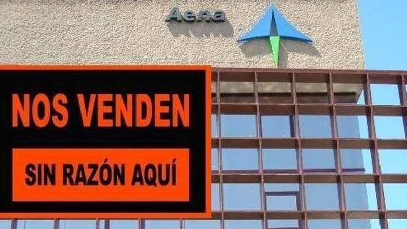 PAREMOS la privatización de Aena por el interes general. Sensibilizar a los ciudadanos y a los trabajadores, firmar esta petición y animar a otos a que lo hagan.