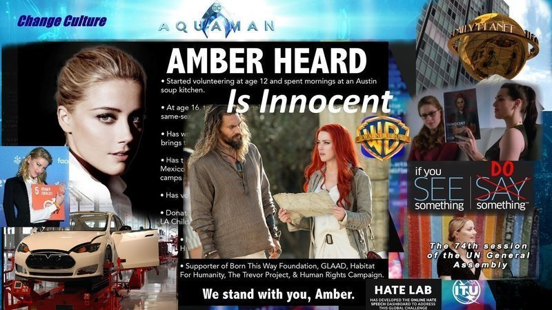 Petition We Support Amber Heard In Aquaman 2 Her Life And Public Safety To Save Lives Change Org