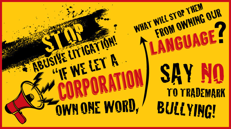 Petition  CocaCola Stop Abusive Litigation Against Small Business