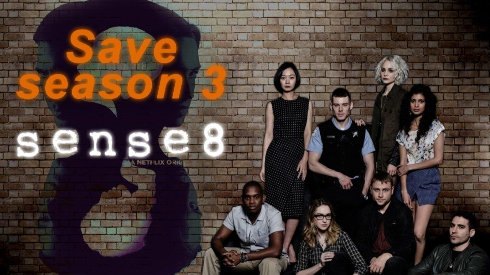 Petition · Renew Sense8 for Season 3! Please, Netflix! · Change org