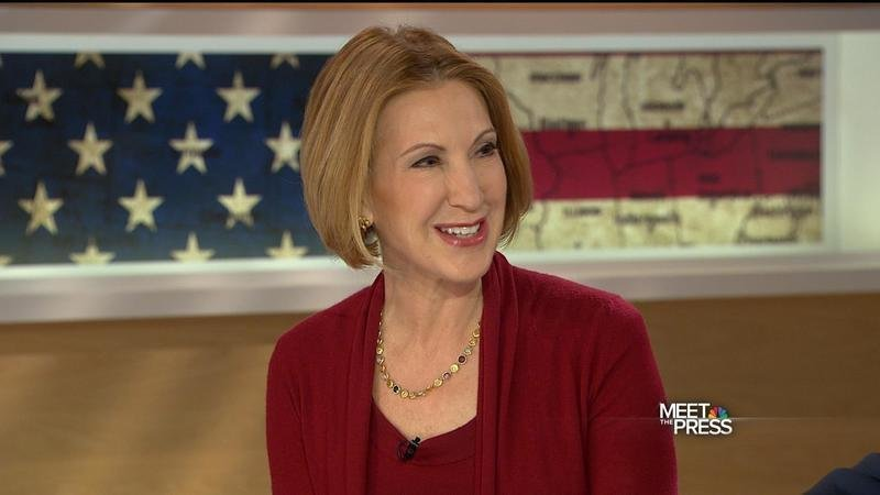 Former 2016 Presidential Candidate and Bitter Loser Carly