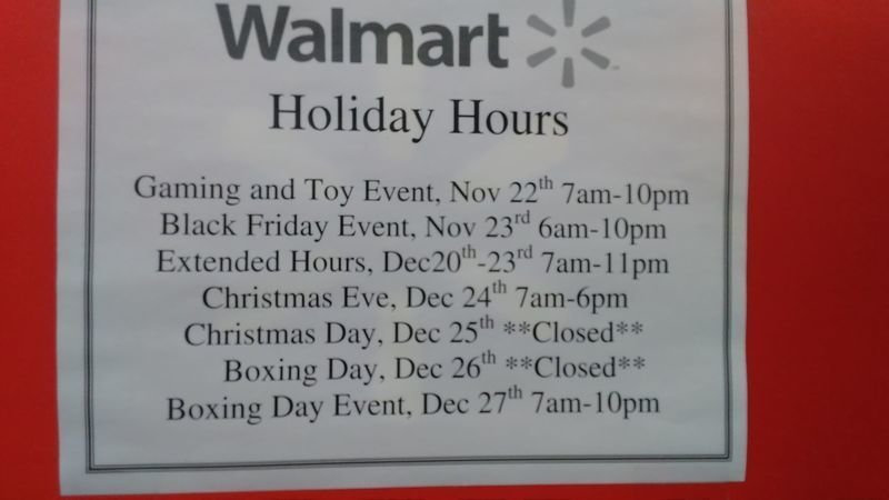 Petition Update Walmart Is Closing Their Stores At 6 Pm On Christmas Eve Change Org