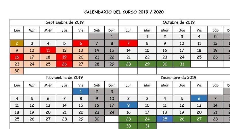 Calendario Del 2019.Petition Update Propuesta De Calendario Escolar 2019 20 Change Org