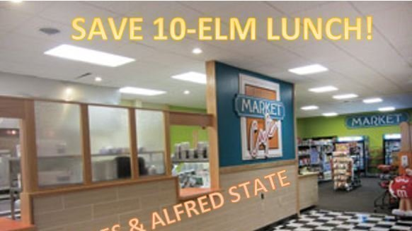 Petition Save 10 Elm Lunch At Alfred State Change Org