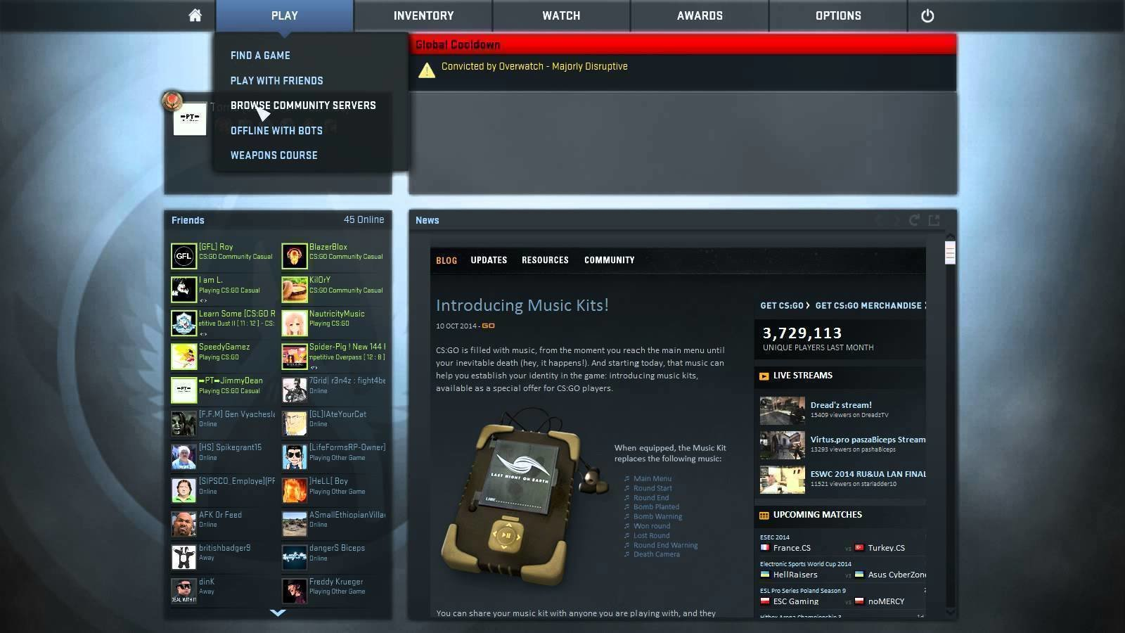 cs go matchmaking code How to configure counter-strike: go for the maximum advantage management for valve's own code it is highly most vital of all cs:go settings.