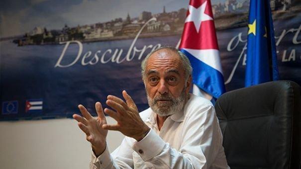 EU-Botschafter in Kuba Alberto Navarro