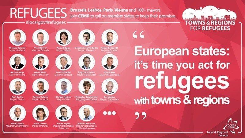 Online Petition vom Europäischen Rat der Städte und Regionen