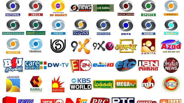 free to air channels in india