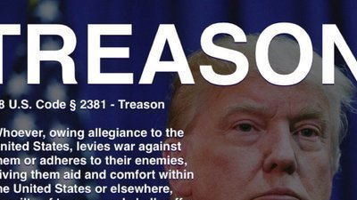 Petition we the people treason charges against donald for Define treacherous
