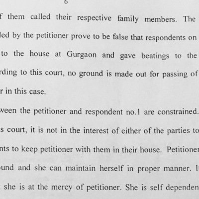 Petition · Appeal Against the Misuse of Dowry Law by My Wife