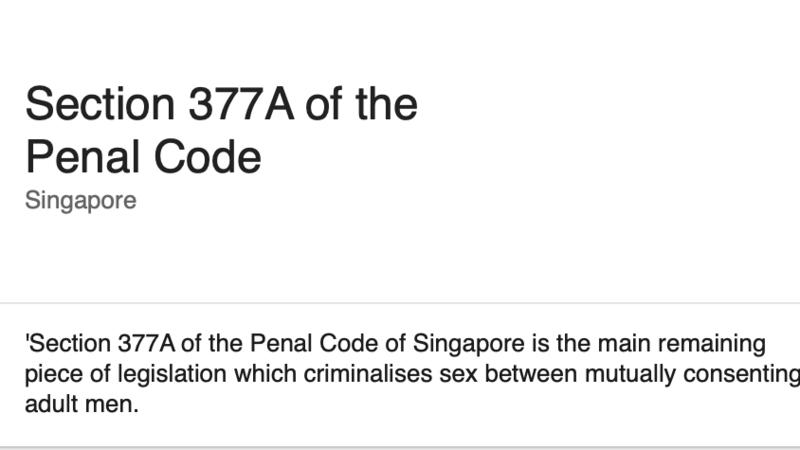 Kenyan penal code homosexuality statistics