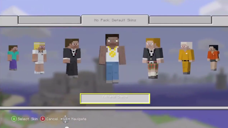 Petition Bring Back The Athlete Steve Skin To Minecraft