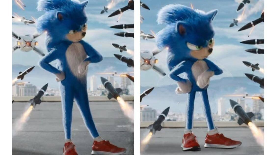 Petition Change Sonic S Design In The New Sonic The Hedgehog Live Action Movie Change Org