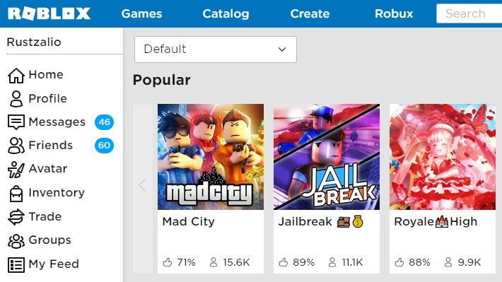 Roblox Homepage Petition Revert The Roblox Page Font And Font Size Back Change Org