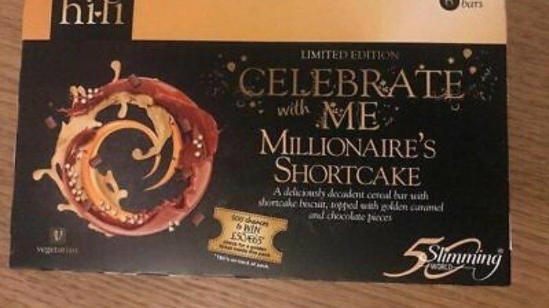 Petition Bring Back Millionaire Shortbread Hifi Bars