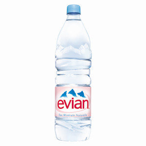 marketing plan evian water